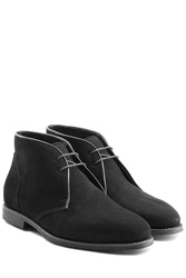 Ludwig Reiter Suede Desert Boots Black