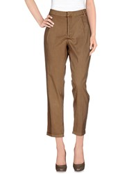 Part Two Trousers Casual Trousers Women Khaki