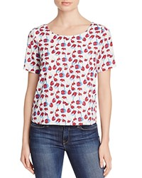 Cooper And Ella Bridget Cherry Print Tee