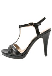 Xti High Heeled Sandals Negro Black