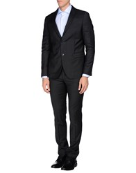 Asfalto Suits And Jackets Suits Men Steel Grey