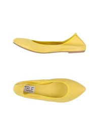 Stele Footwear Ballet Flats Women Yellow