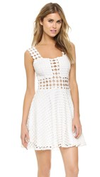 Endless Rose Summer Dots Dress Off White