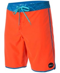 O'neill Men's Santa Cruz Swim Trunks Neon Red