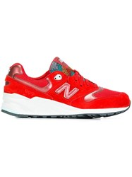 New Balance '999 Ceremonial' Sneakers Red