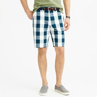 J.Crew 10.5' Club Short In Large Gingham