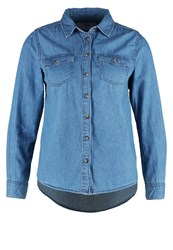 New Look Petite Shirt Pottery Blue