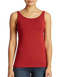 Lord And Taylor Plus Iconic Fit Slimming Tank Top Siam