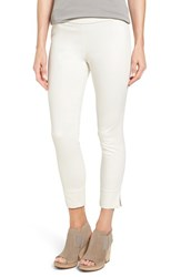 Eileen Fisher Women's Slim Stretch Cotton Crop Pants