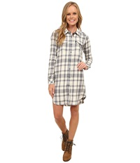 Kavu Jurnee Cloudy Skies Women's Dress White