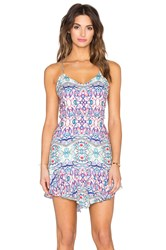 Oh Boy Vestido Orfeu Mini Dress Blue