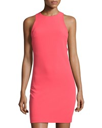 Bishop Young Kate Side Cutout Sheath Dress Coral
