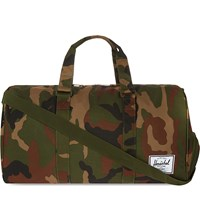 Herschel Supply Co Novel Nylon Holdall Woodland Camo Multi Zip