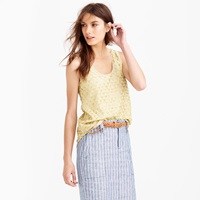 J.Crew Collection Holographic Sequin Tank Top
