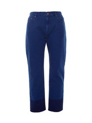 Etoile Isabel Marant Priest Cropped Straight Leg Jeans