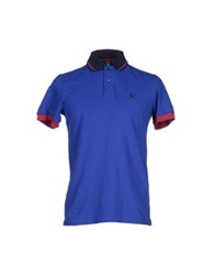 Husky Polo Shirts Bright Blue