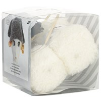 Rico Knitted Bunny Hat Kit Cream