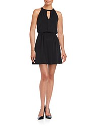 Bcbgeneration Keyhole Halter Sleeveless Dress Black