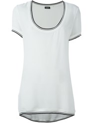 Chanel Vintage Semi Sheer T Shirt White