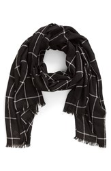 Women's Bp. Grid Print Scarf