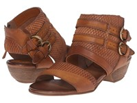 Miz Mooz Cyrus Caramel Women's Sandals Brown