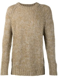 Neuw Crew Neck Jumper Green