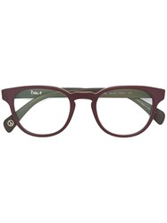 Paul Smith 'Kendon' Glasses Pink And Purple