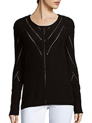 Tess Giberson Wool Blend Pullover Black
