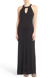 Women's Mimi Chica High Neck Maxi Dress Black