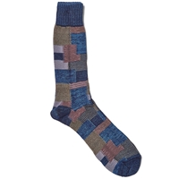 Anonymous Ism Beacon Crew Sock Indigo
