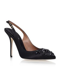 Dolce And Gabbana Bijoux Slingback Shoes Female Black