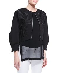 Robert Rodriguez Dandelion Twill Embroidered Jacket