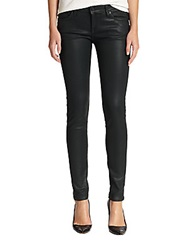Joie Coated Skinny Jeans Black