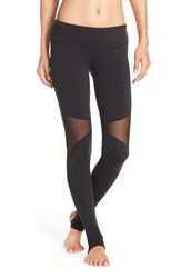Alo Yoga Women's Alo 'Coast' Mesh Inset Stirrup Leggings