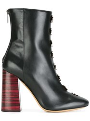 Ellery Pointed Toe Boots Black