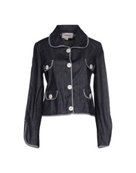 Tomaso Denim Denim Outerwear Women Blue