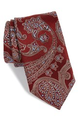 Men's John W. Nordstrom Paisley Silk Tie Red