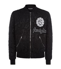 Dolce And Gabbana Brocade Baseball Jacket Male