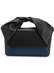 J.W.Anderson J.W. Anderson 'Twist' Handle Clutch Bag Black
