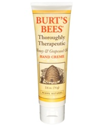 Burt's Bees Honey And Grapeseed Oil Hand Creme