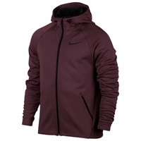 Nike Therma Sphere Training Hoodie Night Maroon Black
