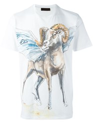 Etro Printed T Shirt White