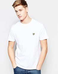 Lyle And Scott Vintage T Shirt With Eagle Logo White