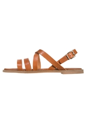 Zign Sandals Brown Cognac