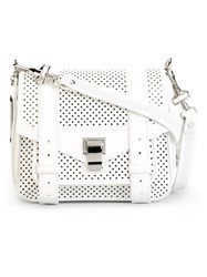 Proenza Schouler Tiny 'Ps1' Satchel White