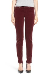 Kut From The Kloth Women's 'Diana' Stretch Corduroy Skinny Pants Zinfandel