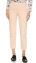 Alice Olivia Stacey Slim Trousers Blush