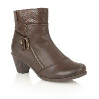 Lotus Sherman Ankle Boots Brown