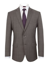 Pierre Cardin Prince Of Wales Check Classic Fit Jacket Grey