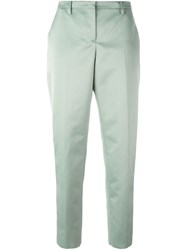 N 21 Nao21 Tailored Trousers Green